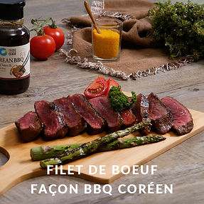 Filet de boeuf facon bbq coreen.png