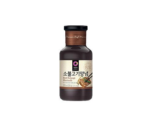 (25/BOX) Sauce Bulgogi pour marinade de boeuf 280 g