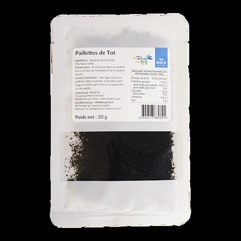 Paillettes de Tot (algues brunes) naturelles 20 g