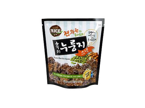 Snack de Riz noir gratiné - amande et graines de citrouille 60 g