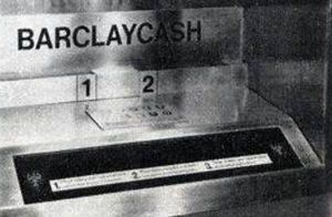 First ATM machine was 50 years Ago