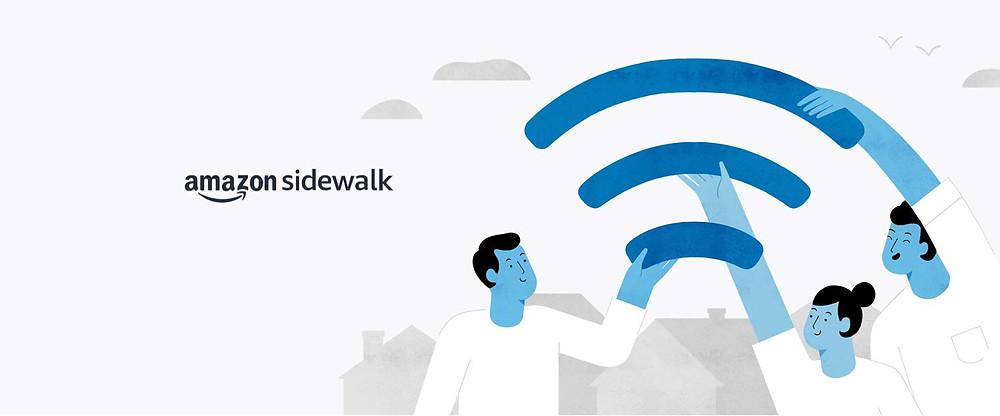 Amazon Sidewalk Info graphic