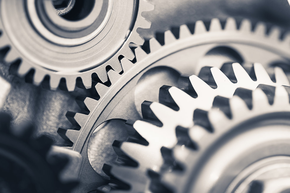 engine gear wheels, industrial backgroun