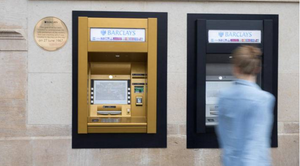 The first ATM is still in the same location