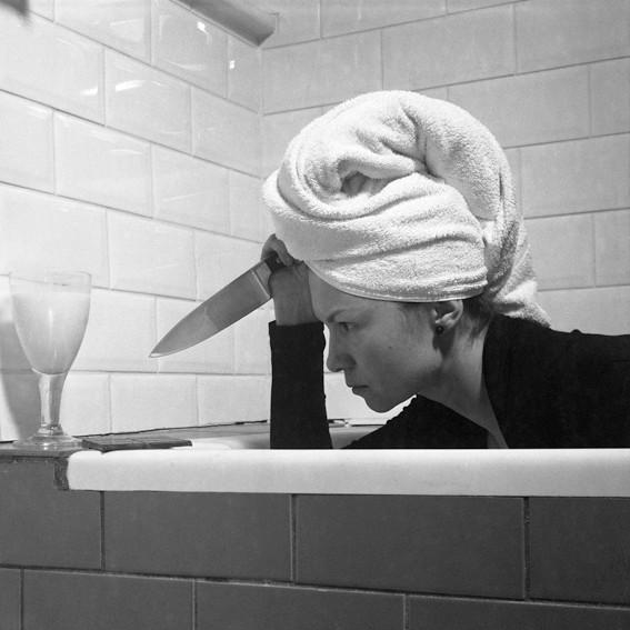 Bathroom Scene # 4, from series Domestique ©2013