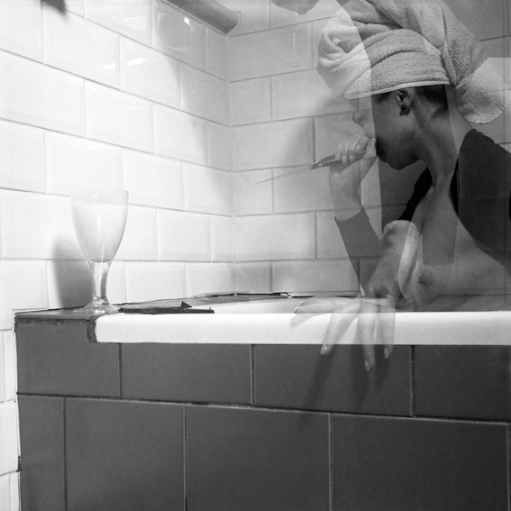 Bathroom Scene # 3, from series Domestique ©2013