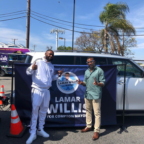 Thank You For Your Support Of LaMar Willis' Mayoral Candidacy!