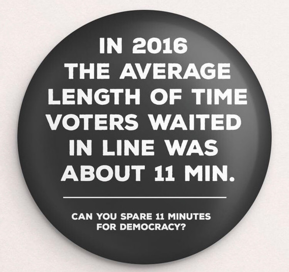 Take the time to VOTE! Button by Brooke Fischer