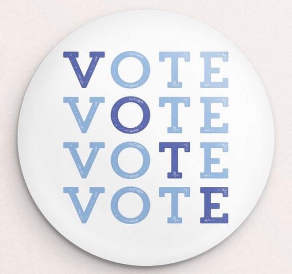 VOTE! Button by Brooke Fischer