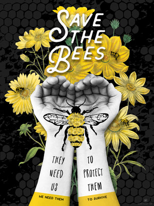 SAVE THE BEES - PROTECT THEM
