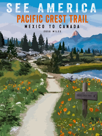 See America - Pacific Crest Trail