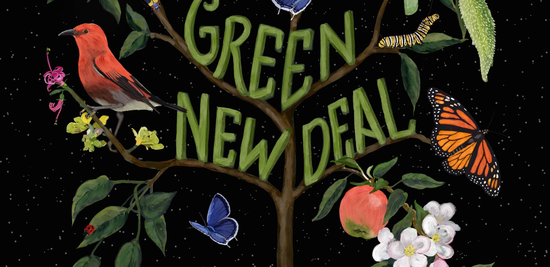 GREEN NEW DEAL - DARK