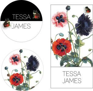 Tessa James Logo & Hangtags