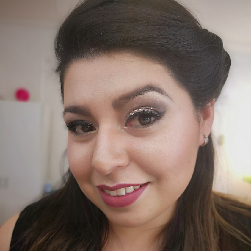 Clase Maquillaje de Noche Nivel Inicial