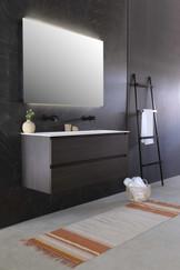 Kraft polystone mathvid 120 cm - møbel i intens eg
