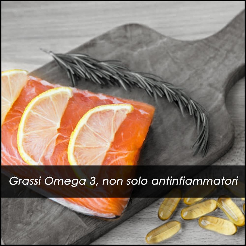 Omega 3, salmone, integratori