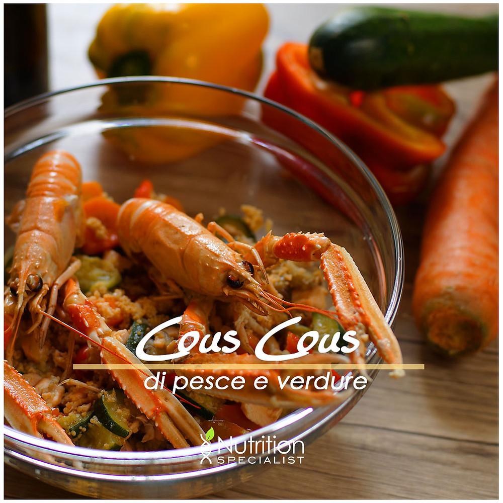 Cous-cous di Pesce e Verdure