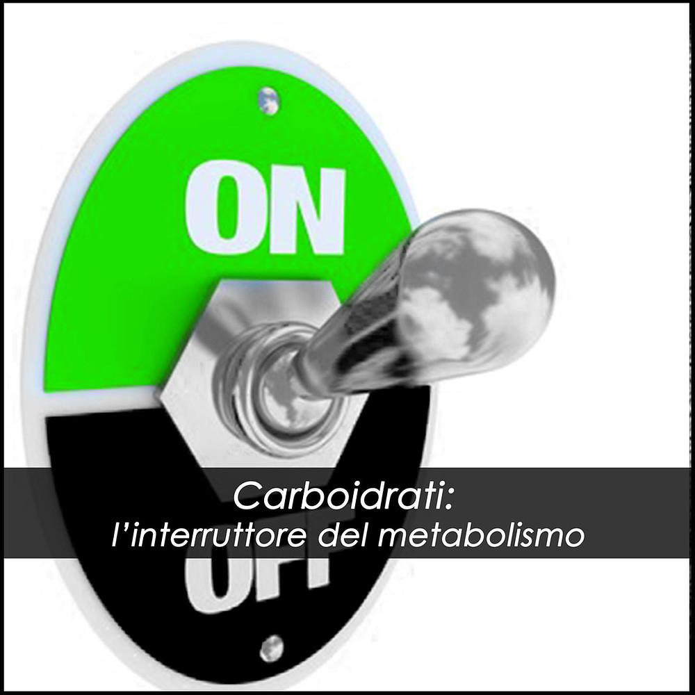 Carboidrati: l'interruttore del metabolismo!