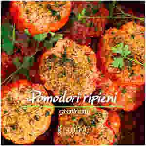 Pomodori gratinati a forno