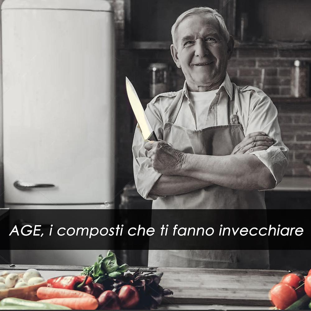 AGE, i composti che ti fanno invecchiare