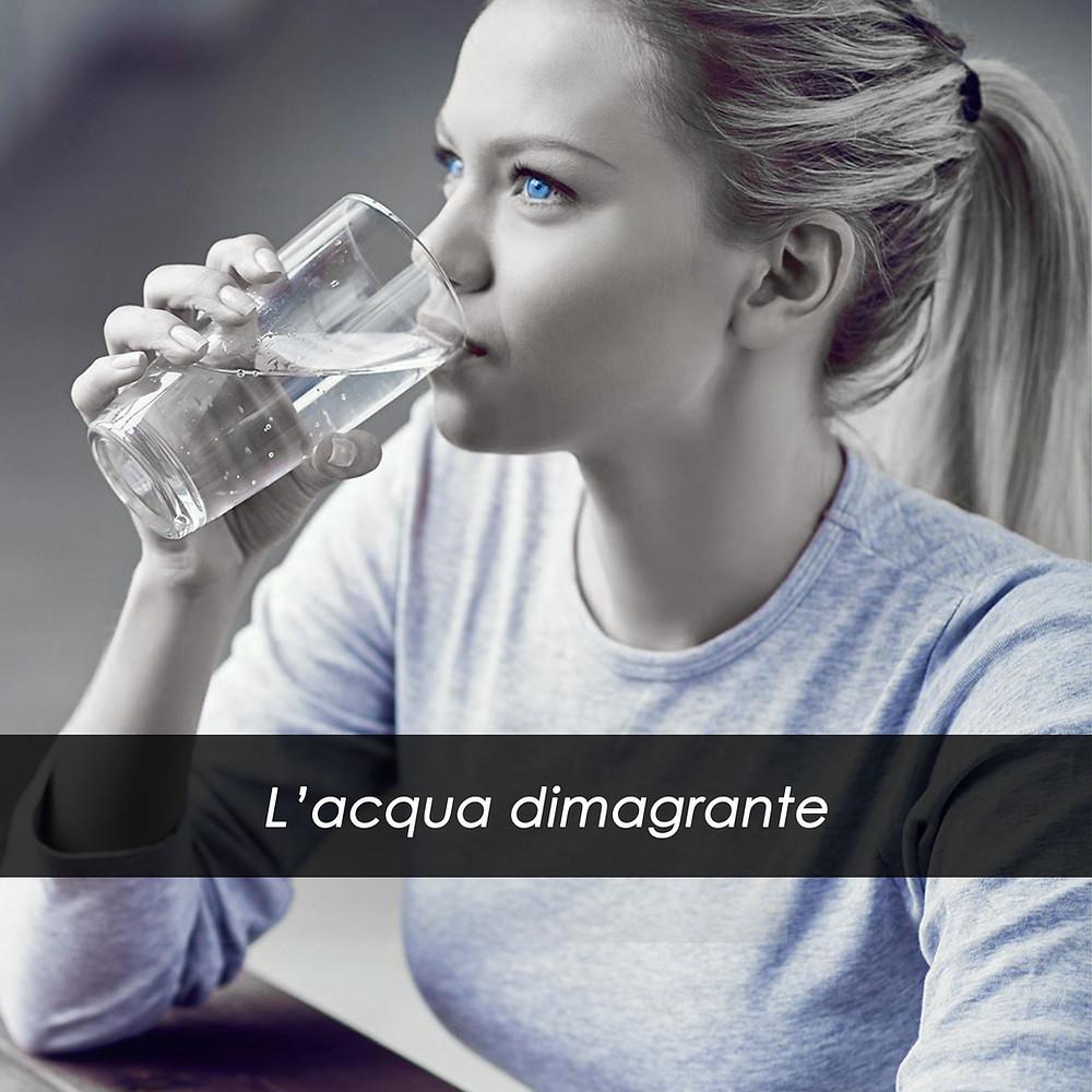 L'acqua dimagrante