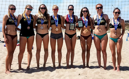 2018 Southern Pacific IBVL Girls' Pairs Medalists