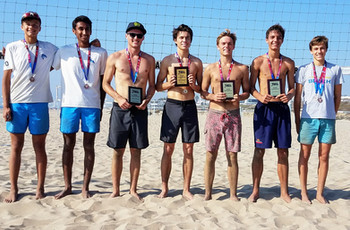 2017 Southern Pacific Boys' IBVL Pairs Medalists