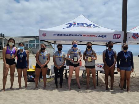2021 IBVL Varsity Pairs Medalists