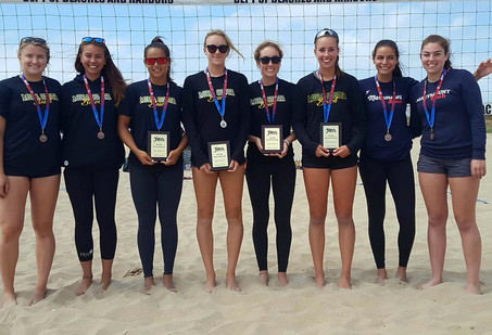 2017 Southern Pacific Girls' IBVL Pairs Medalists
