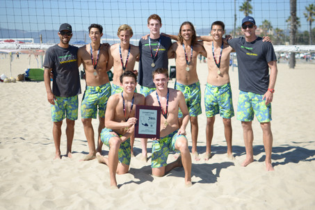 Mira Costa boys win IBVL!