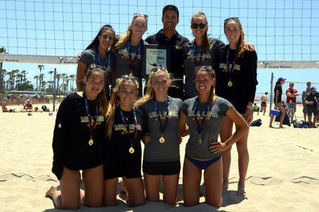 Mira Costa Girls wins the IBVL!