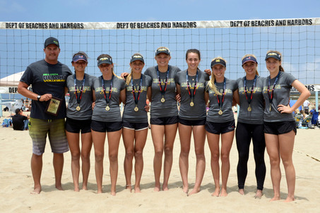 Mira Costa wins 2016 IBVL JV Tournament of Champions