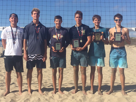 2016 Boys' IBVL Pairs Champions