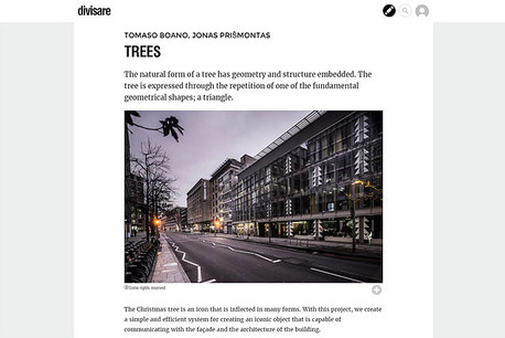 """Find out more about """"TREES"""" on Divisare"""