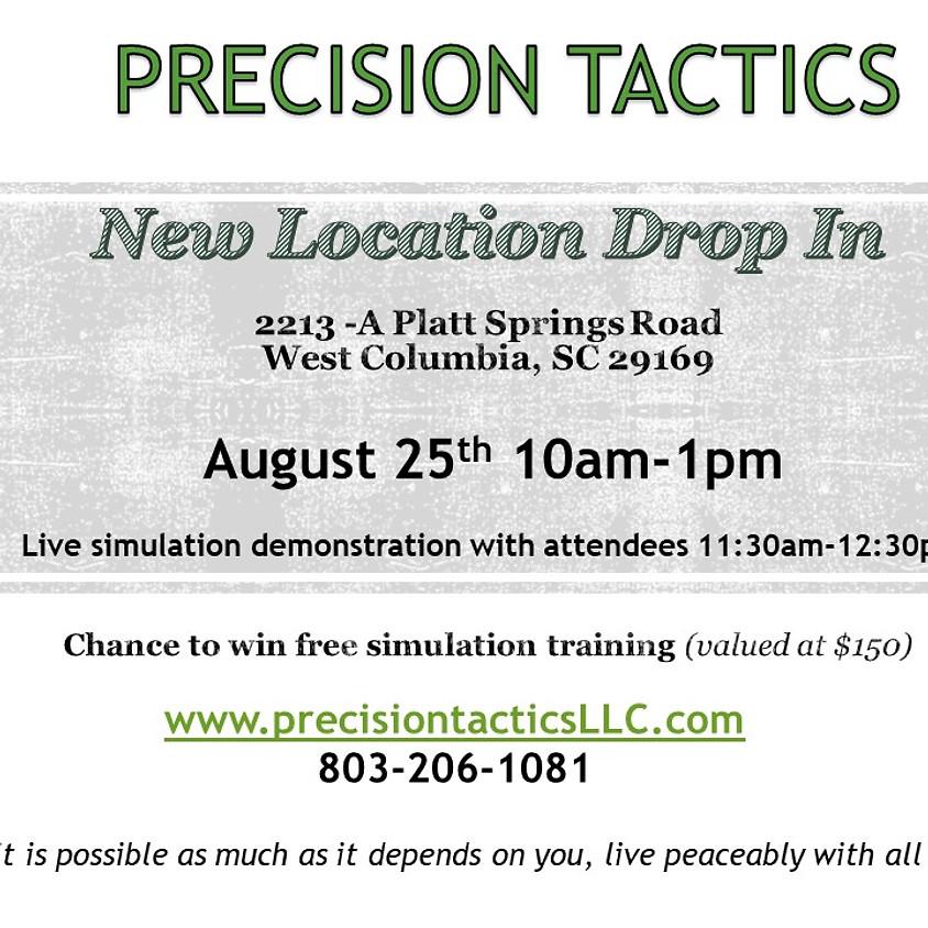 Precision Tactics New Location Drop In