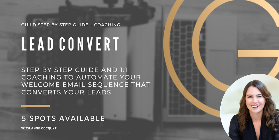 Lead Convert - Step By Step Guide + Coaching