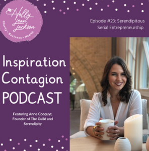 Inspiration Contagion Podcast with Anne Cocquyt