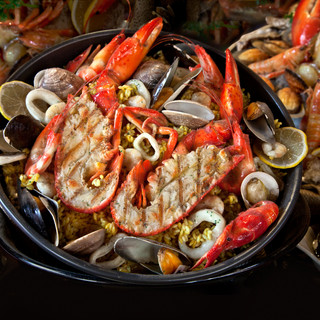 Seafood. Prepared Shellfish. Mediterrane