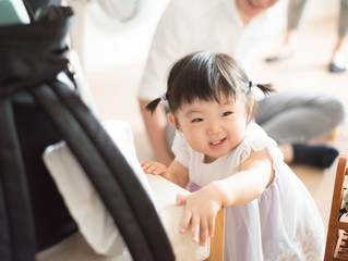 1歳バースデー撮影@みつばスタジオ