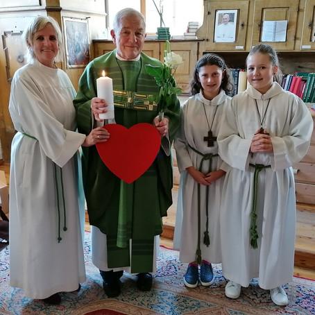 Pater Zauner: Seit 40 Jahren Priester