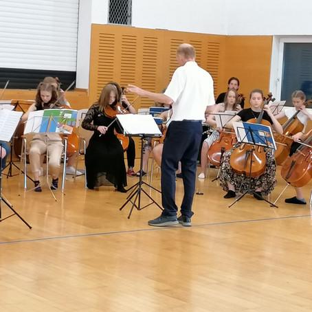 Musik und Spaß bei Musizierwoche