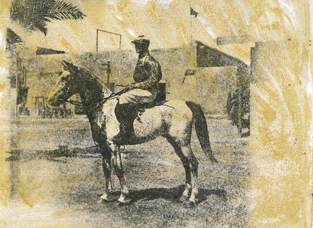 Tetrach, Basrah Races 1918 Owner - Major T.L Jackson