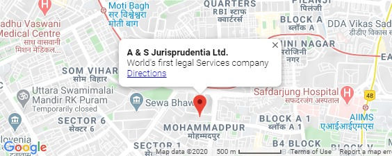 A & S Jurisprudentia Ltd's Location