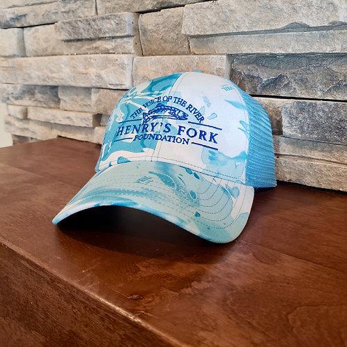 HFF Trucker Hat - Cloud Camo Blue
