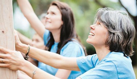 Empowered Women Volunteers