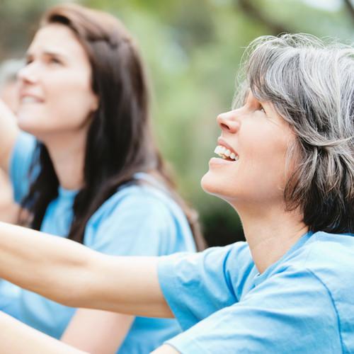 Freiwillige Frauen