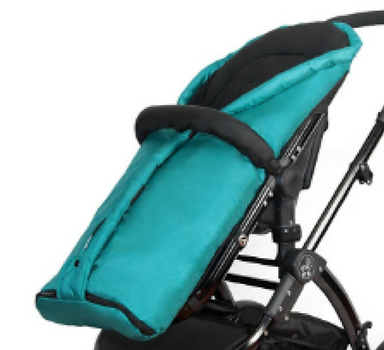 Teal Stroller|Foot Muff|Cozy|Cold Weather Accessories|Ella Baby Strollers