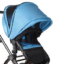 Blue Baby Stroller|Toddler Stroller|Ella Baby Stroller