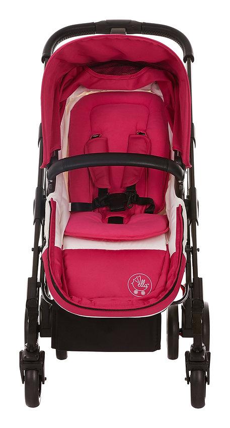 Ella Baby Versa Stroller Pink Cozy Micro Fleece Insert