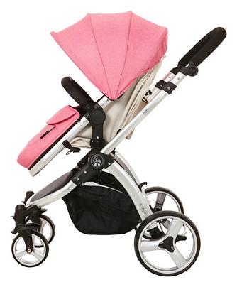Journey Convertible Stroller - Pink/Beige